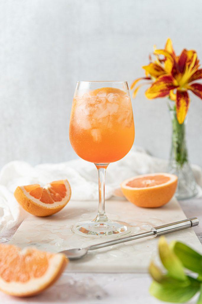 Grapefruit Aperol Spritz