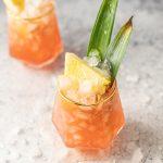 Jungle Bird Rum and Pineapple Easy Tiki Cocktail