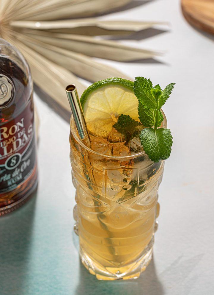 Mai Tai Rum Tiki Tropical Cocktail Orgeat Lime Juice