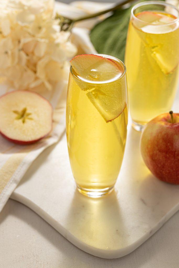 Apple Ginger Vodka Apple Pie Mimosa Prosecco Champagne