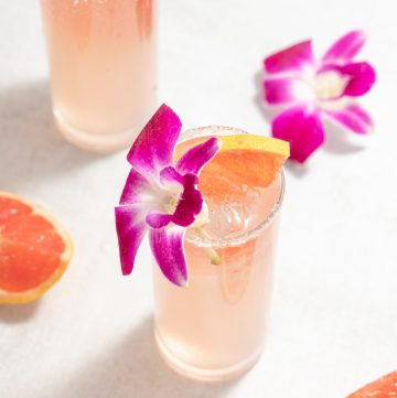 Skinny Paloma Tequila Blanco Cocktail Grapefruit Soda Agave