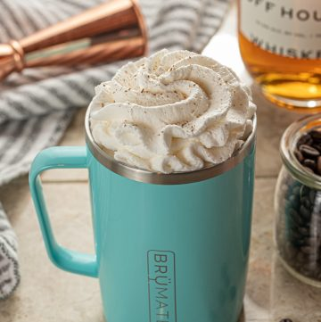 Cinnamon Kentucky Coffee with Bourbon