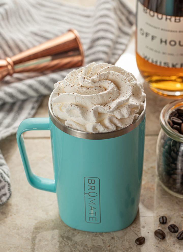 Cinnamon Kentucky Coffee with Bourbon