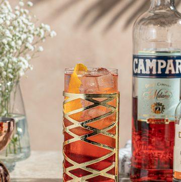 Classic Cocktail Americano Campari