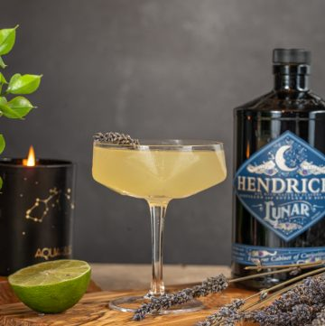 Cucumber and Lavender Gin Gimlet