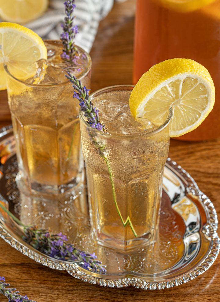Lavender and Lemon Iced Tea