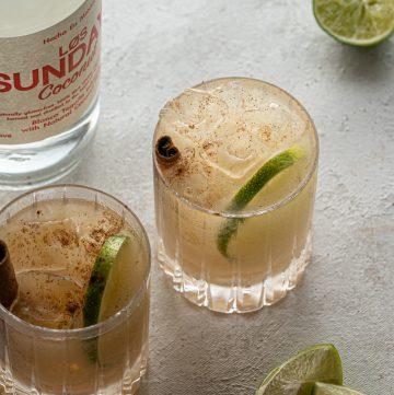 Cinnamon Coconut Margarita
