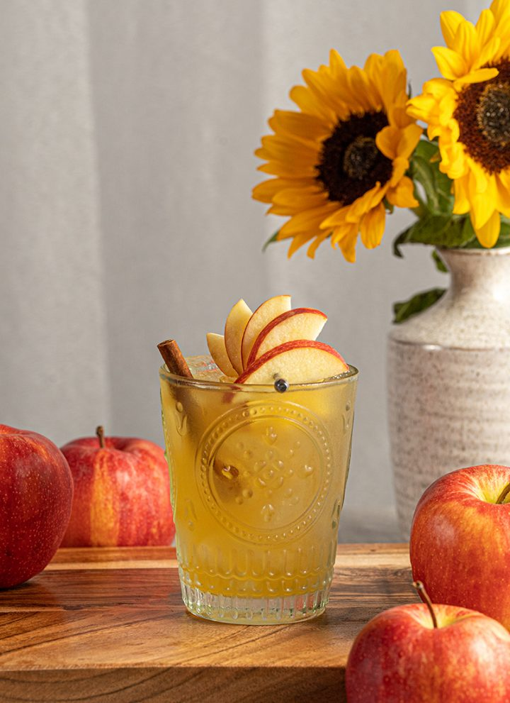 Ginger and Apple Cider Cocktail